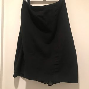 Ann Taylor Stretch Pencil Skirt size 14 in black